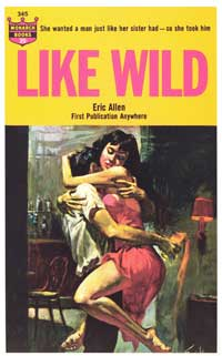 Like Wild - 11 x 17 Retro Book Cover Poster