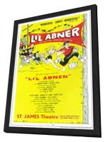 Li'l Abner (Broadway) - 11 x 17 Poster - Style A - in Deluxe Wood Frame