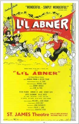 Li'l Abner (Broadway) - 14 x 22 Poster - Style A