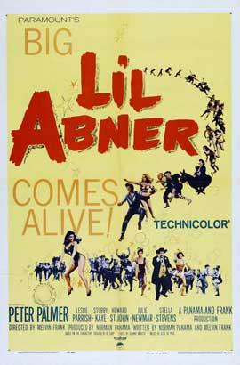 Li'l Abner - 11 x 17 Movie Poster - Style A