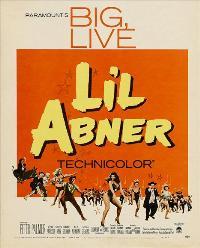 Li'l Abner - 11 x 17 Movie Poster - Style B