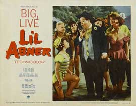 Li'l Abner - 11 x 14 Movie Poster - Style C