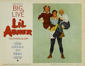 Li'l Abner - 11 x 14 Movie Poster - Style E