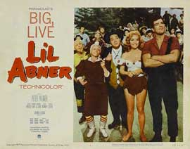 Li'l Abner - 11 x 14 Movie Poster - Style G