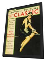Lila Lee - 11 x 17 Motion Picture Classic Magazine Cover 1920's Style A - in Deluxe Wood Frame