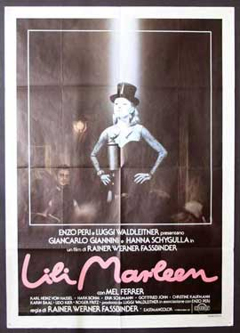 Lili Marleen - 11 x 17 Movie Poster - Italian Style A