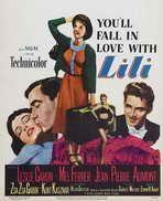 Lili - 27 x 40 Movie Poster - Style B