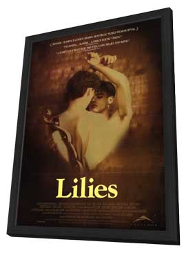Lilies - 27 x 40 Movie Poster - Style A - in Deluxe Wood Frame