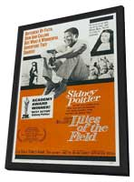 Lilies of the Field - 11 x 17 Movie Poster - Style C - in Deluxe Wood Frame
