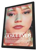 Lilja 4-ever - 11 x 17 Movie Poster - Belgian Style A - in Deluxe Wood Frame