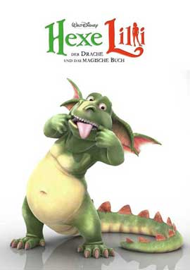 Lilly the Witch: The Dragon and the Magic Book - 11 x 17 Movie Poster - German Style C