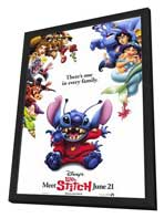 Lilo & Stitch - 27 x 40 Movie Poster - Style A - in Deluxe Wood Frame