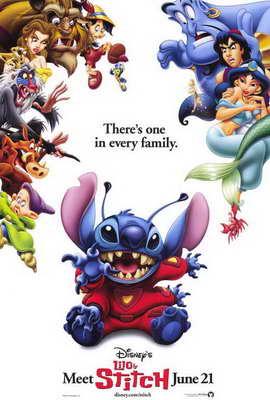 Lilo & Stitch - 27 x 40 Movie Poster - Style A