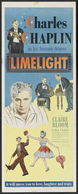 Limelight - 14 x 36 Movie Poster - Insert Style A