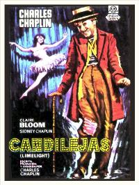Limelight - 11 x 17 Movie Poster - Spanish Style C