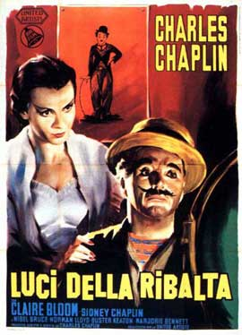 Limelight - 11 x 17 Movie Poster - Italian Style B