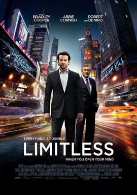 Limitless - 27 x 40 Movie Poster - UK Style A