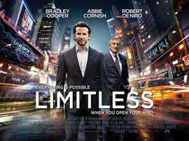 Limitless - 11 x 17 Movie Poster - UK Style B