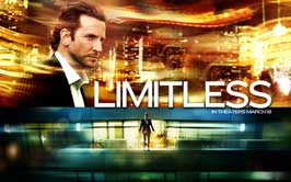 Limitless - 43 x 62 Movie Poster - Bus Shelter Style B