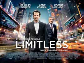 Limitless - 27 x 40 Movie Poster - UK Style B