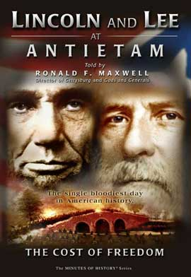 Lincoln and Lee at Antietam: The Cost of Freedom - 11 x 17 Movie Poster - Style A