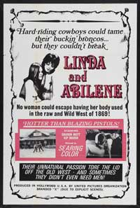 Linda and Abilene - 43 x 62 Movie Poster - Bus Shelter Style A
