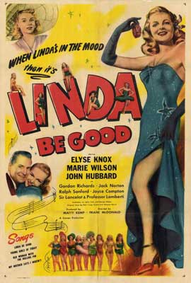 Linda Be Good - 27 x 40 Movie Poster - Style A