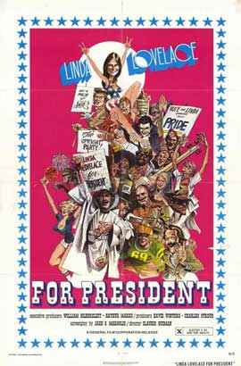 Linda Lovelace for President - 11 x 17 Movie Poster - Style A