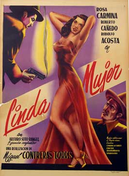 Linda Mujer - 11 x 17 Movie Poster - Spanish Style A