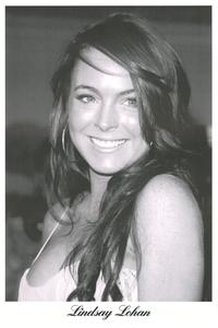 Lindsay Lohan - People Poster - 24 x 36 - Style A
