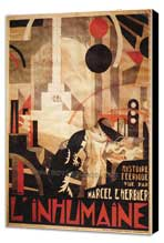 L'Inhumaine - 27 x 40 Movie Poster - Foreign - Style A - Museum Wrapped Canvas