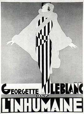 L'Inhumaine - 11 x 17 Movie Poster - French Style A