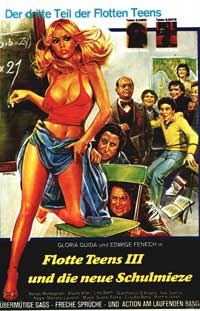 L'insegnante va in Collegio - 11 x 17 Movie Poster - German Style A