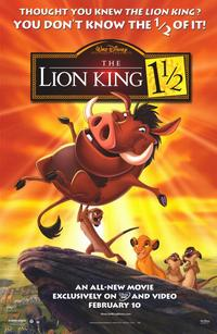 Lion King 1 1/2 - 11 x 17 Movie Poster - Style A