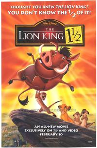 Lion King 1 1/2 - 43 x 62 Movie Poster - Bus Shelter Style A