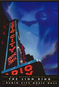 Lion King, The (Stage Play) - 27 x 40 Movie Poster - Style A