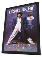 Lionel Richie: The Making of Dancing on the Ceiling - 11 x 17 Movie Poster - Style A - in Deluxe Wood Frame