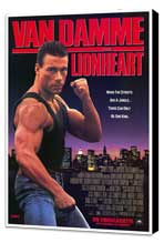 Lionheart - 27 x 40 Movie Poster - Style A - Museum Wrapped Canvas