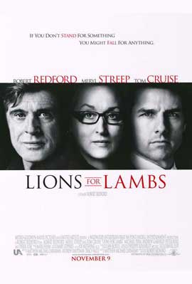 Lions For Lambs - 11 x 17 Movie Poster - Style A