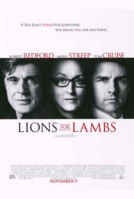 Lions For Lambs - 27 x 40 Movie Poster - Style A