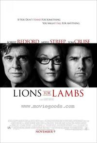 Lions For Lambs - 43 x 62 Movie Poster - Bus Shelter Style A