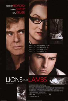 Lions For Lambs - 11 x 17 Movie Poster - Style B