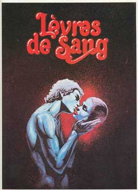 Lips of Blood - 11 x 17 Movie Poster - French Style B