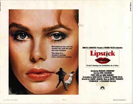 Lipstick - 11 x 14 Movie Poster - Style A