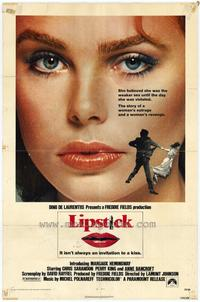 Lipstick - 27 x 40 Movie Poster - Style A