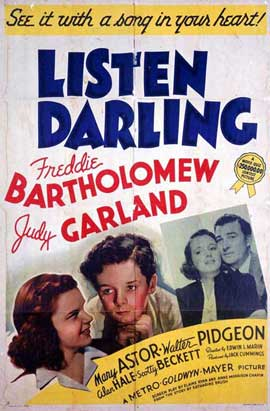 Listen, Darling - 11 x 17 Movie Poster - Style A