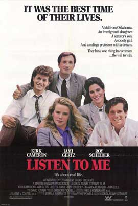 Listen to Me - 27 x 40 Movie Poster - Style A