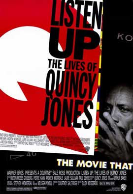 Listen Up: The Lives of Quincy Jones - 11 x 17 Movie Poster - Style A