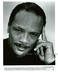 Listen Up: The Lives of Quincy Jones - 8 x 10 B&W Photo #1