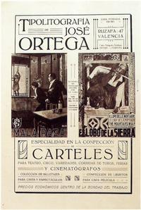 Litografia Ortega - 11 x 17 Movie Poster - Spanish Style A